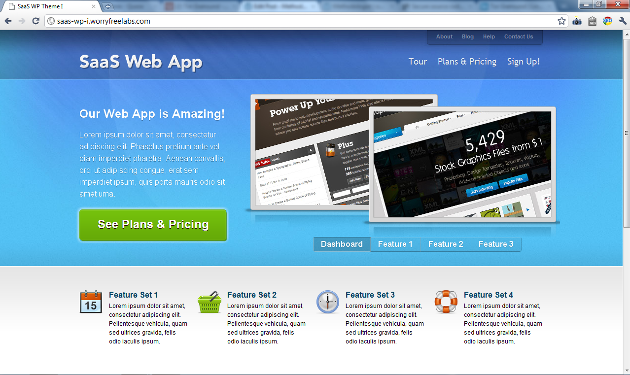 7 WordPress Themes for Launching your Minimum Viable Product – Tor ...